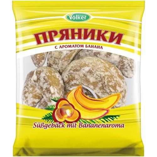 Пряники с ароматом банана/Medenjaki z okusom banane. Volker.