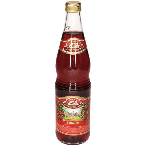 Лимонад Вишня/ Češnjeva limonada 0,5 l. Черноголовка.