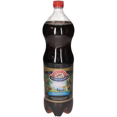 Лимонад Байкал / Limonada Bajkal 1,5l. Черноголовка.