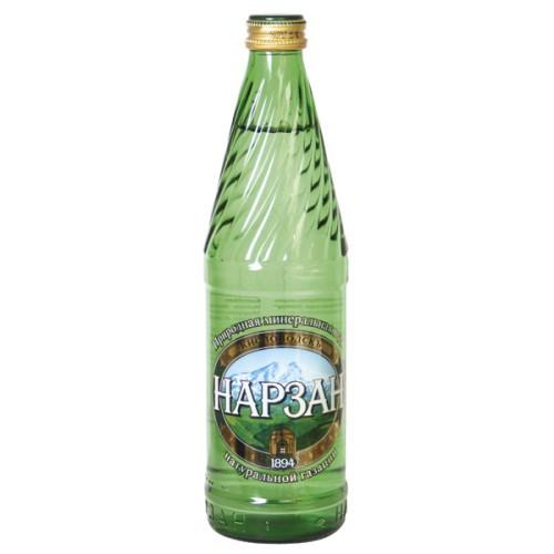Вода Нарзан золотой / Narzan voda zlata 0,5 l.
