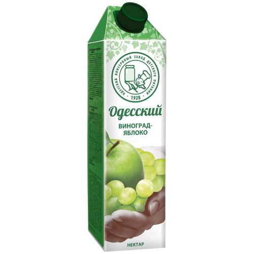Нектар яблочно-виноградный /Jabolčno-grozdni nektar 1L. Одесский.