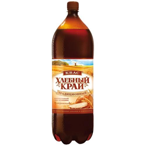 Квас Хлебный край / Kvass Hlebny kraj 2l.