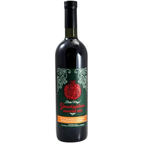 Гранатовое вино/Vino granatnega jabolka.