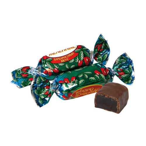 Конфеты желейные с барбарисом/ Jelly bonboni z češmin.Красный октябрь.