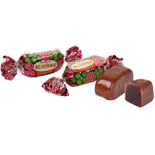 Желейные конфеты с малиной/Jelly bonboni z malinami .Красный октябрь.
