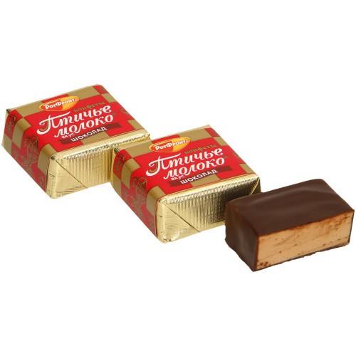 Конфеты Птичье молоко,шоколадные/ Bonboni Čudovita ptica, čokoladna