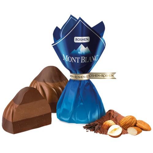 Конфеты Мон Блан с орешками/ Bonboni Mont Blanc z oreščki mix