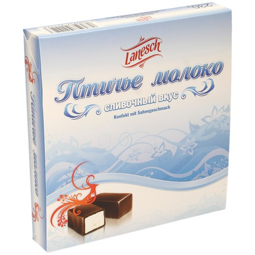 Птичье молоко в коробке/Ptičje mleko v škatli. Lanesch