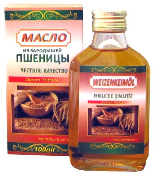 Масло из зародышей пшеницы/ Olje iz pšeničnih kalčkov 100ml.