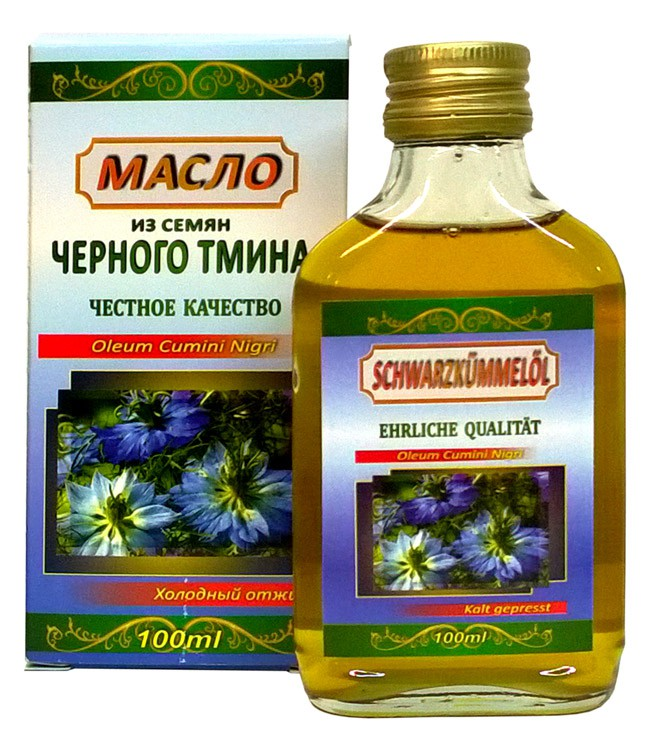 Масло из черного тмина/ Olje črne kumine 100 ml.