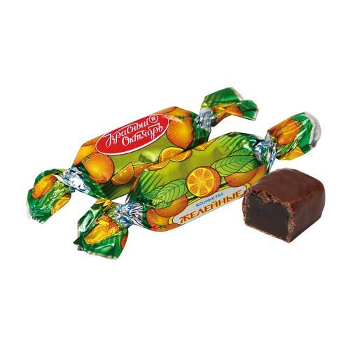 Желейные конфеты со вкусом апельсина/Žele-bonboni z okusom pomaranče