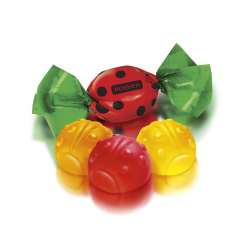 Желейные конфеты Божьи коровки / Jelly bonboni Pikapolonice. Roshen.