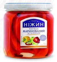 Перец маринованный/Vložena paprika 450gr. Нежин
