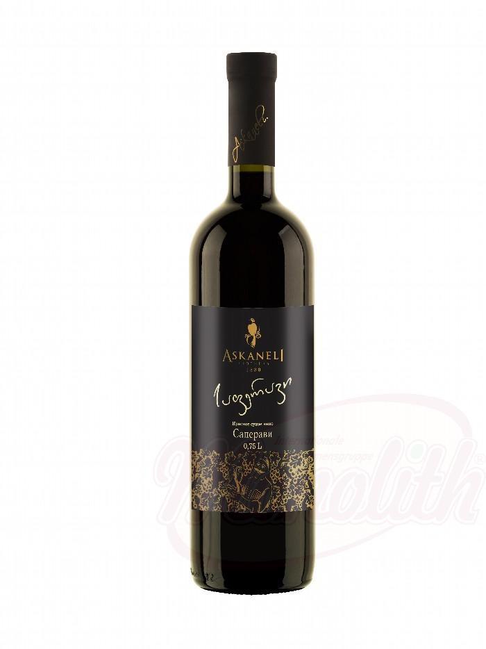 Вино Саперави кр.сух./Vino Saperavi rd.suh. al.13%, Askaneli