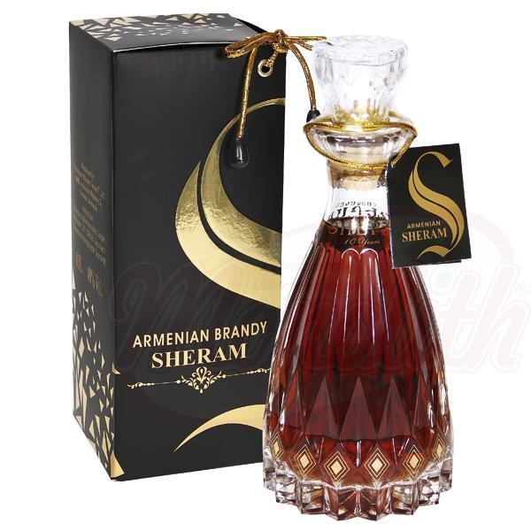 "Армянский коньяк Шерам/ Brandy ""ŠERAM"" 10star,al.40% vol."