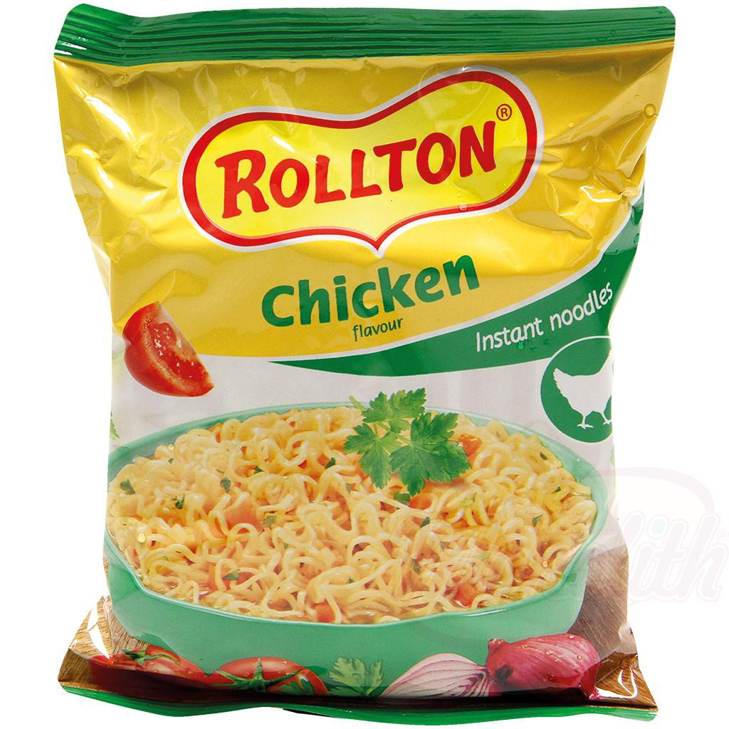 """Роллтон курица/Vermicelli z piščančjim okusom """"Rollton"""" 60gr."""