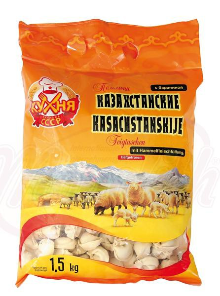 """Kazahstanski"" cmoki z jagnjetino 1,5kg./""Казахстанские"" пельмени с бараниной"
