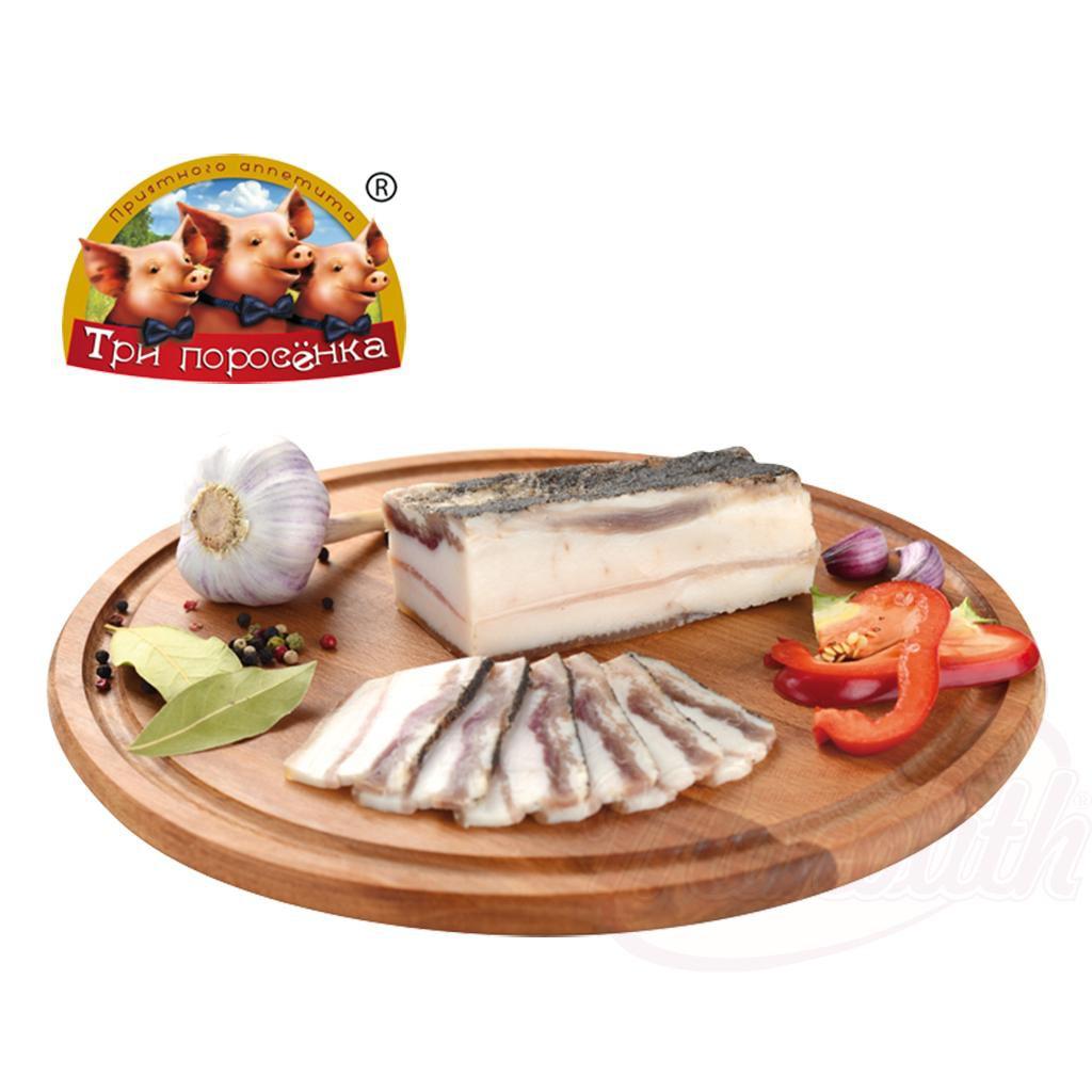 Сало с перцем и чесноком/Slanina s poprom in česnom
