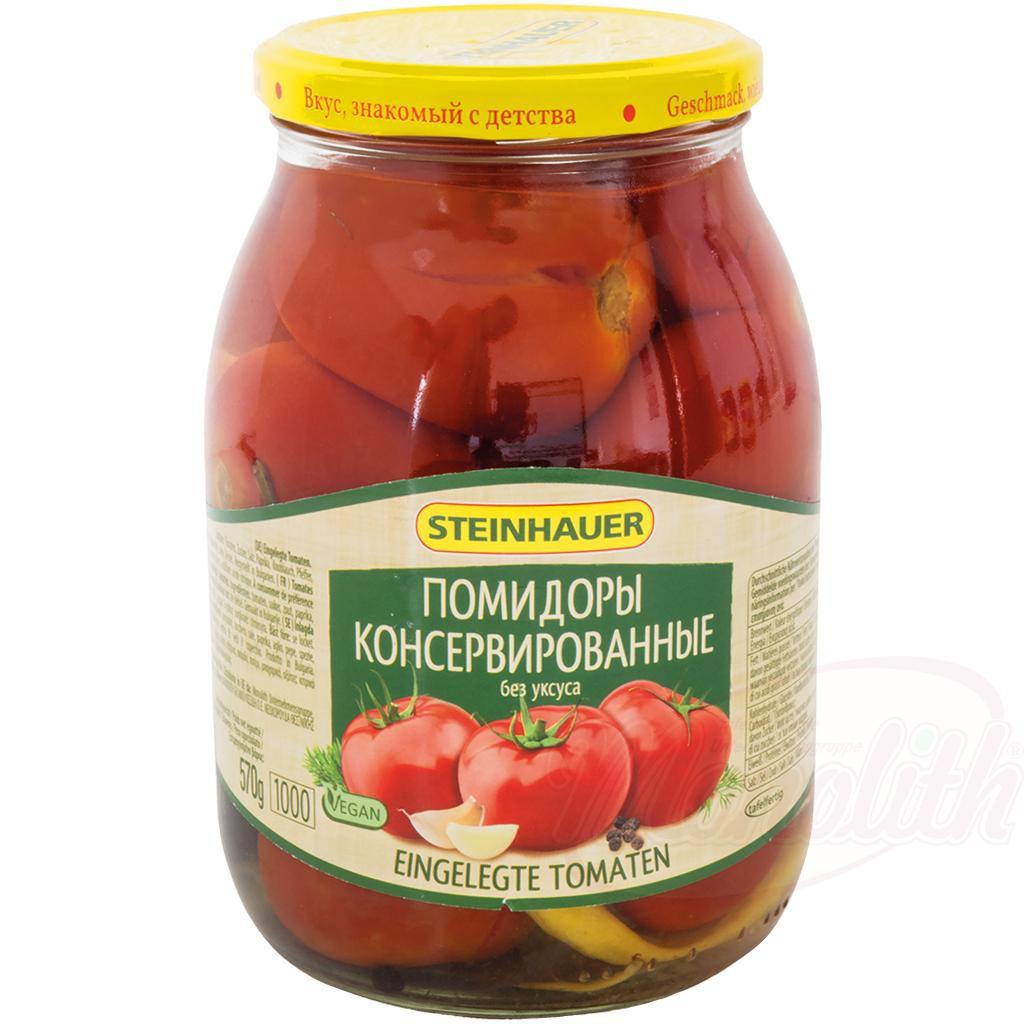 Помидоры консервированные без уксуса/Konzervirani paradižnik brez kisa 1000ml.