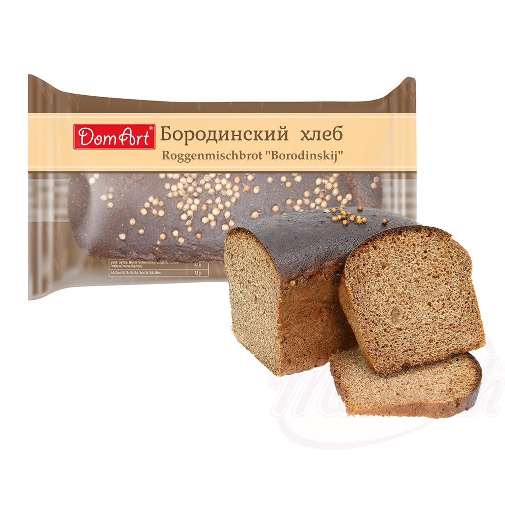 "Rženi kruh ""Borodinsky/Ржаной хлеб ""Бородинский"