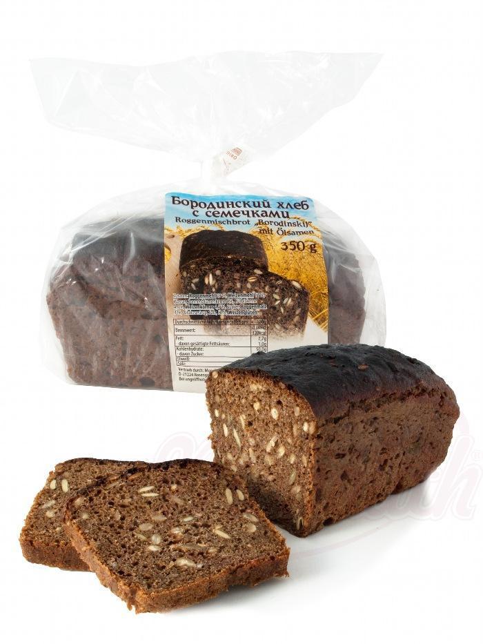 Borodinski kruh s semeni/Бородинский хлеб с семечками