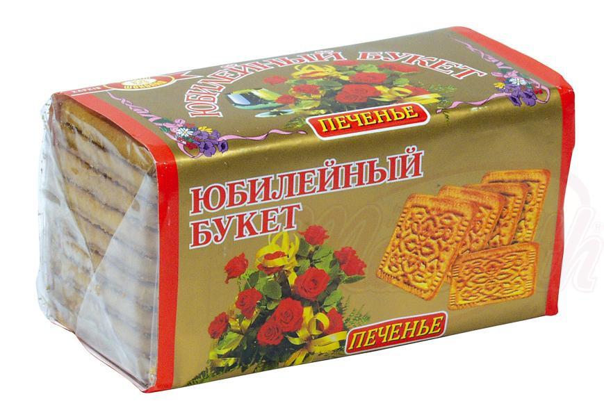 "Печенье ""Юбилейный букет""/Piškotki ""Jubilejni šopek"""