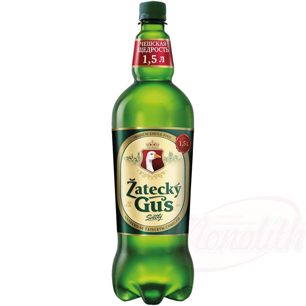 Пиво Светлое Жатецкий Гусь/Pivo svetlo Žatetskiy Goose