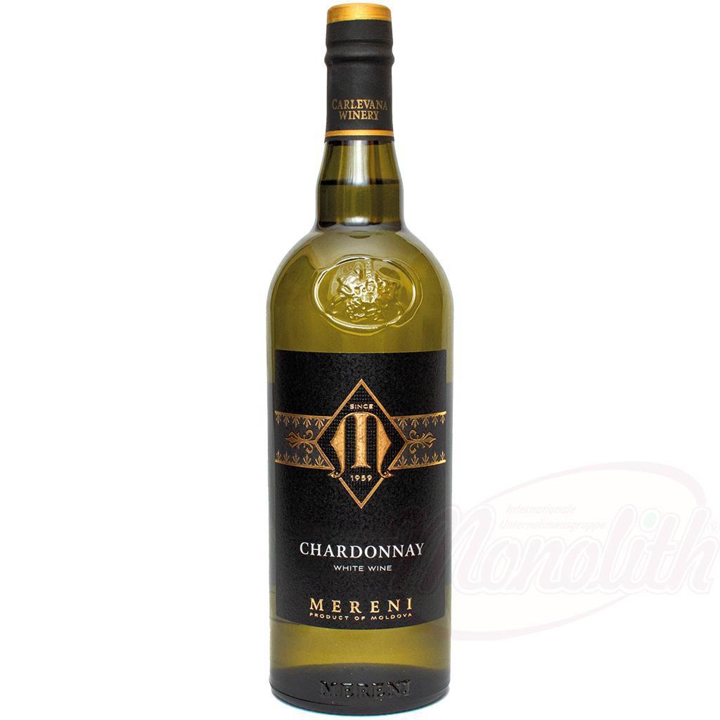 "Вино белое ""Chardonnay"", полусладкое, Молдова 13% алк./Belo vino ""Chardonnay"", polsladko, Moldavija 13% alk."
