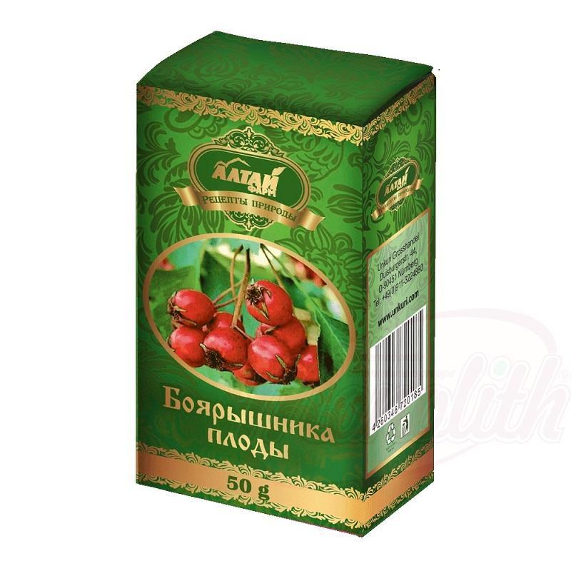 Плоды боярышника/ Navadni glog 100 g.