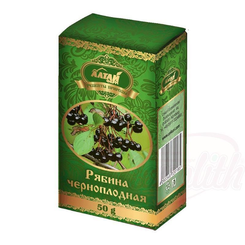 Sadje aronija/Рябина черноплодная Altaj 50g.