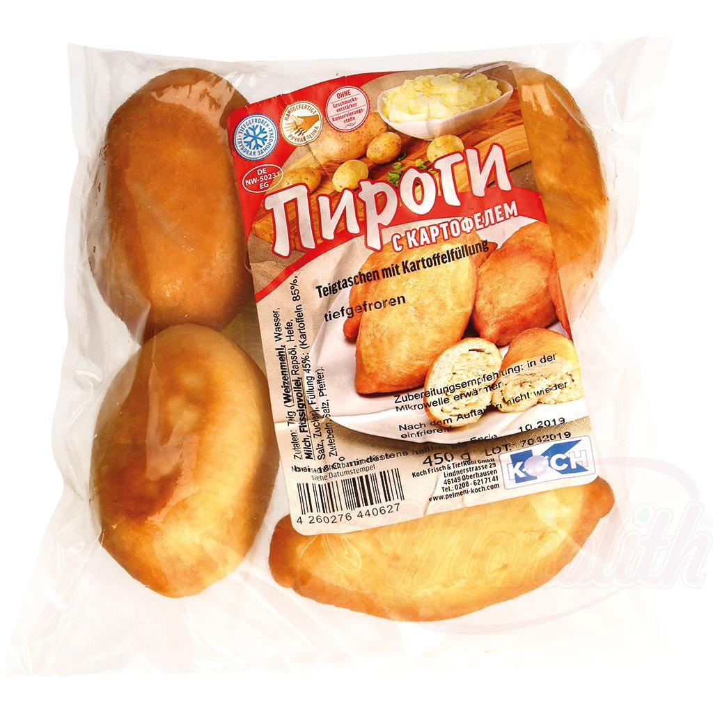 Krompirjeve pite, zamrznjene/Пироги с картофелем, замороженные