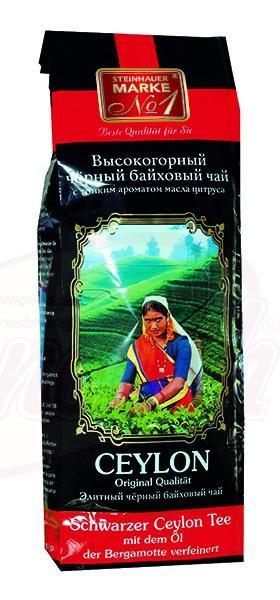 Črni cejlonski čaj z okusom bergamotinih olj/Чёрный цейлонский чай, ароматизирован маслами бергамота