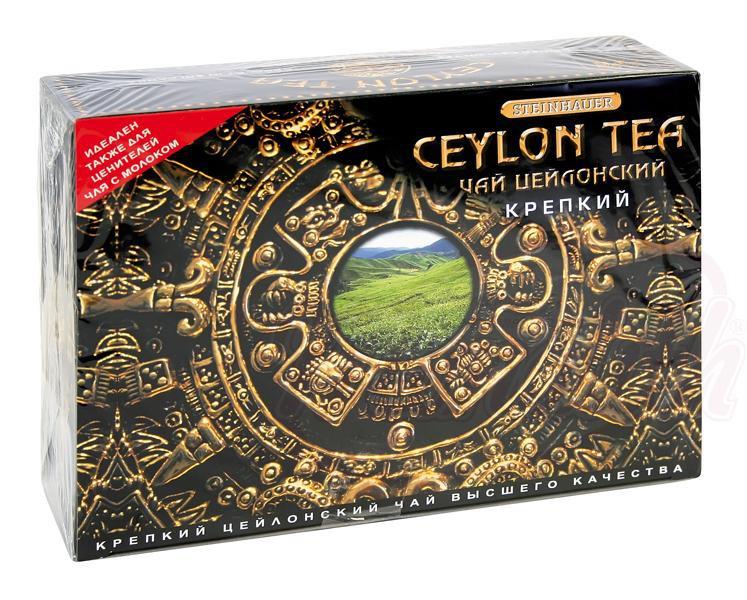 Cejlonski čaj, močan/Чай цейлонский, крепкий