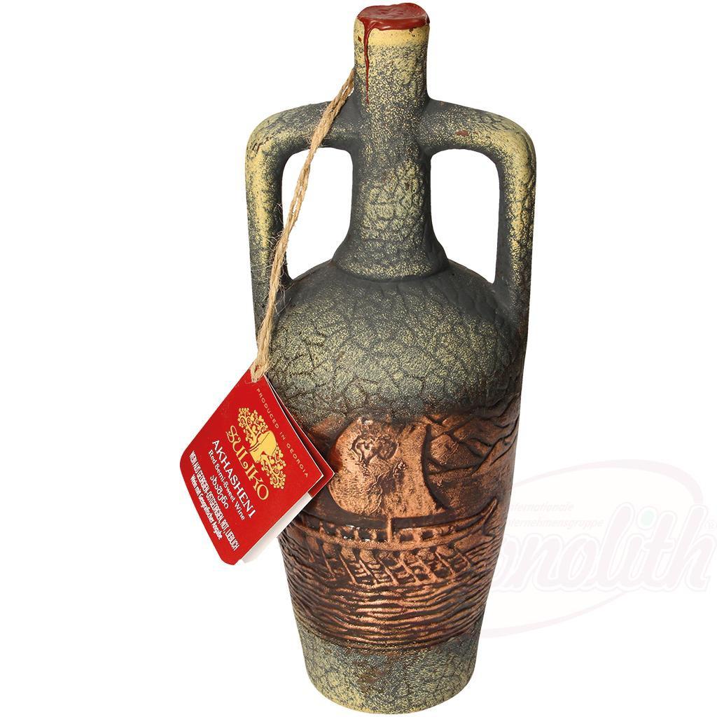 "Rdeče vino ""Ahašeni"" 11% alk., Polsladko/Красное вино ""Ахашени"" 11% алк., полусладкое"