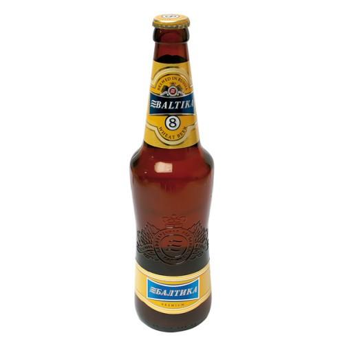 Пиво Балтика № 8/Pivo Baltika №8, al. 5,0%;