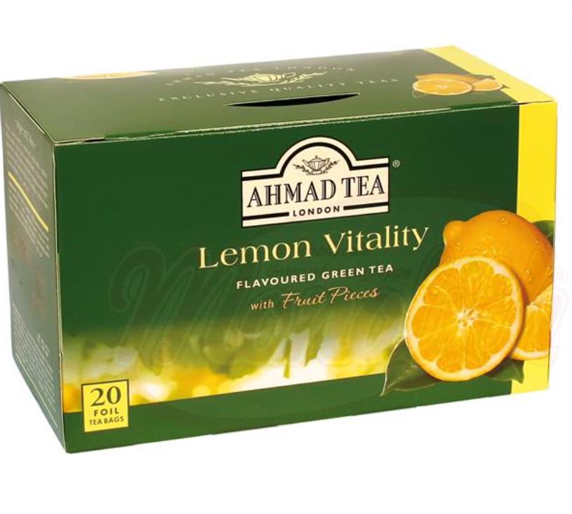 Zeleni čaj z limono/Зеленый чай с лимоном