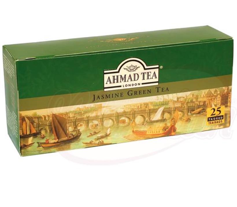 """Zeleni čaj """"Ahmad"""" z jasminom/Чай зелёный """"Ахмад"""" с жасмином"""