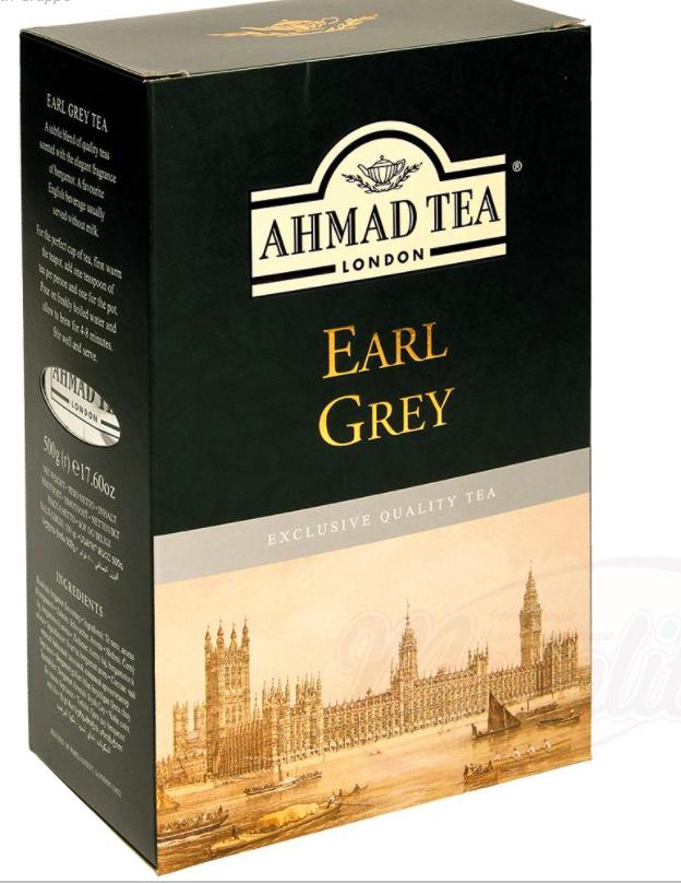 "Cejlonski čaj z bergamonom ""AHMAD""/Чай цейлонский с бергамоном ""AHMAD"""