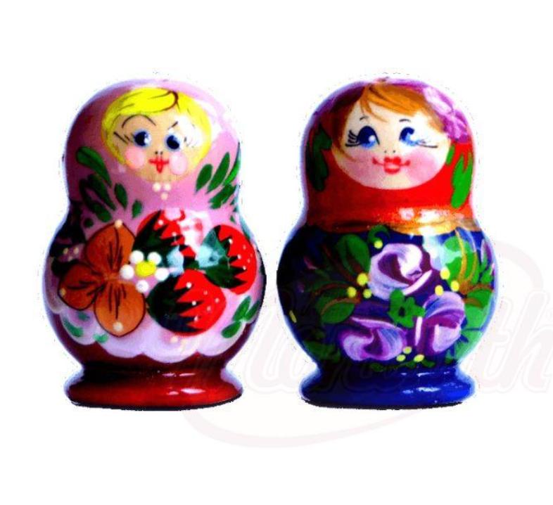 """Set za sol in poper """"Babuška"""""""