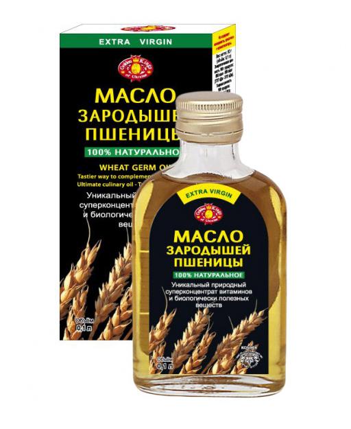 Olje iz pšeničnih kalčkov 100ml.