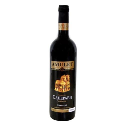 Вино Саперави крас. сух./ Vino Saperavi rd.suh. al 12%, Аmulet