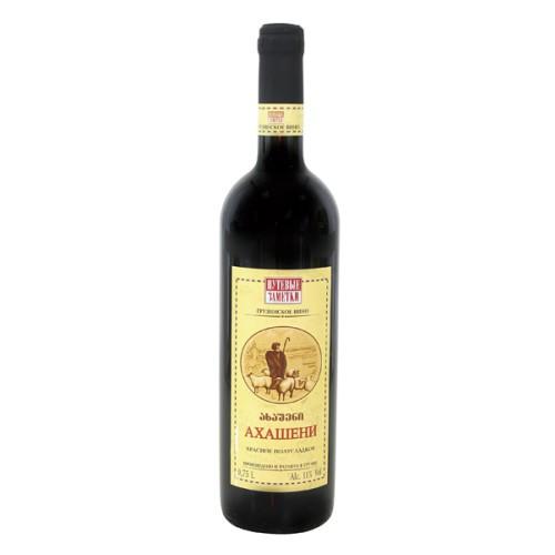 Вино Ахашени, красное/ Vino Ahašeni, rdeče. Путевые заметки.