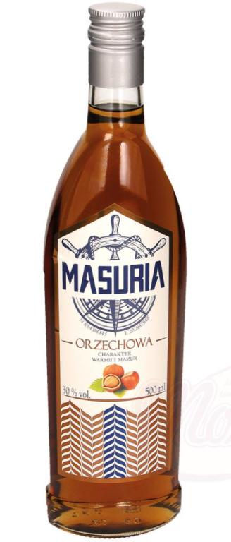 "Poljski liker - lešnik ""Masuria Orzechowa"", alk.30 %, 0,5L."