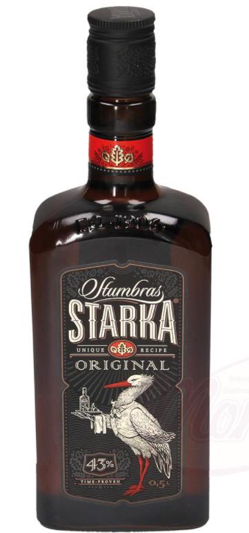 "Alkoholna pijača ""Stumbras Starka"", 43% alc."