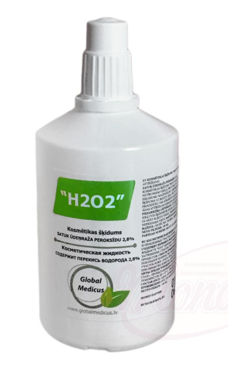 """Kozmetični izdelek """"H2O2"""" Vodikov peroksid"""