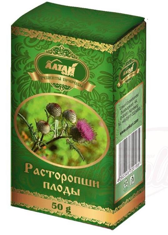 Sadje mlečnega badlja/Расторопши плоды 50g