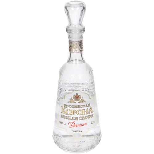 Водка Российская корона/ Vodka Ruska krona al. 40%; 0,7L.