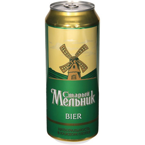 Пиво Старый мельник / Pivo Starij melnik 4,7 %