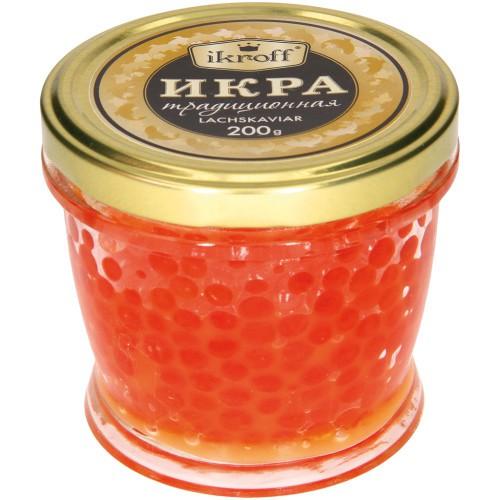 Икра Традиционная/Kaviar Tradicionalni 200g.Ikroff
