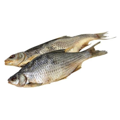 Рыба Плотва,сухая,соленая;неочищенная/Rdečeoka, suh, nasoljen